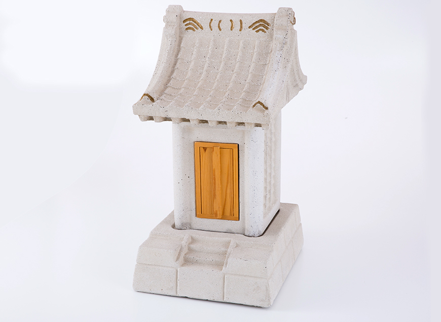 氏神 地の神様 人造石 並(モルタル製)