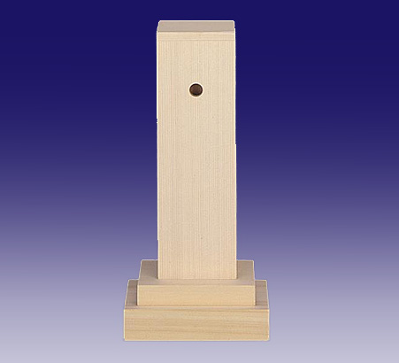 霊璽 銘々用霊舎6寸 檜葉製(ヒバ)