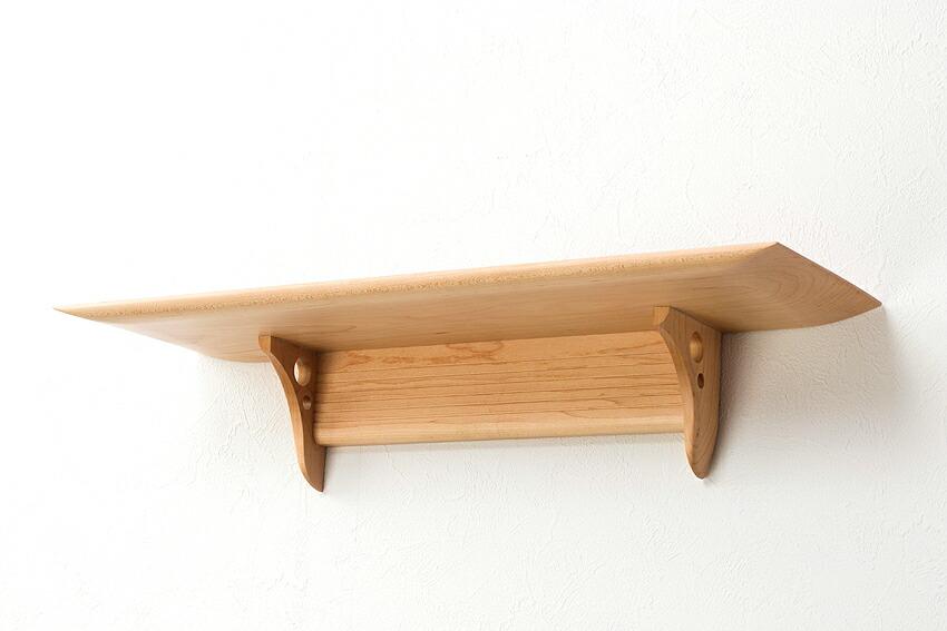 【 神棚 】洋風モダン神棚板 Kaede Grande メイプル製 ウォールシェルフ あさイチ