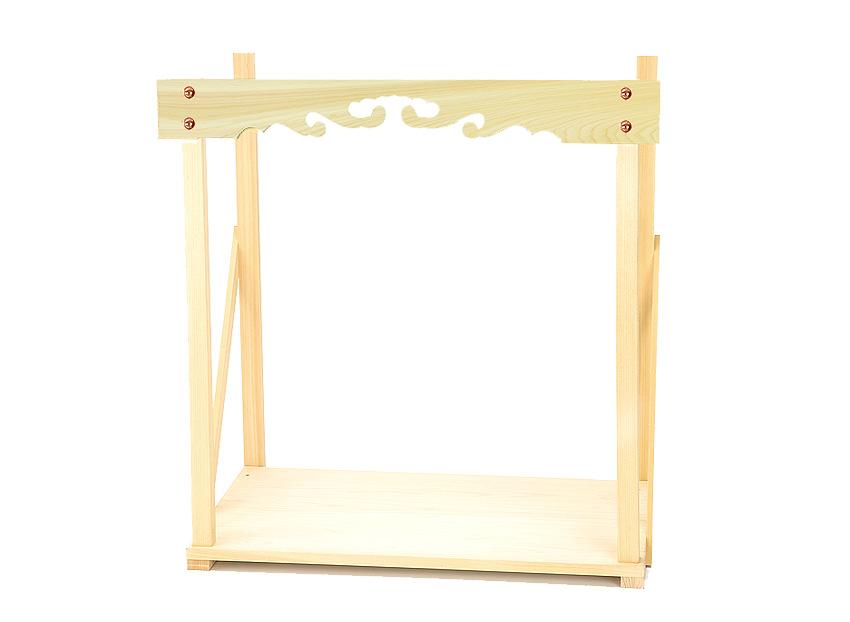 神棚 棚板 雲板 幕板 【総ひのき幕板付き棚板 小】 幅 約48cm 組立品 桧 ひのき 送料無料