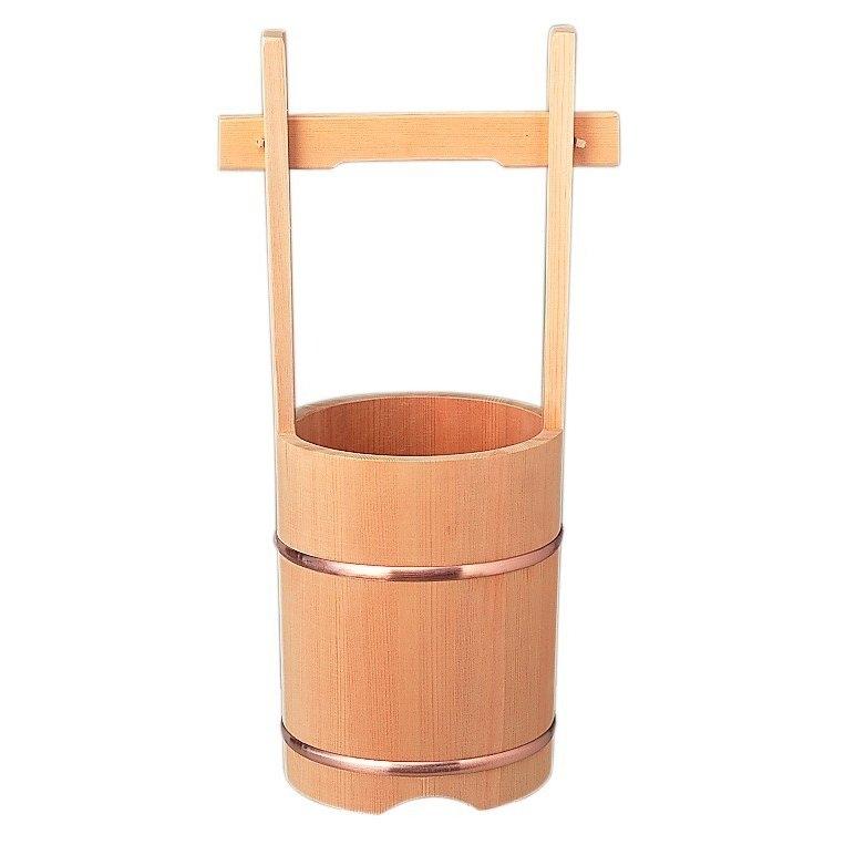 【現役神職監修】桶 【 神棚 モダン 神具 】 手桶(24cm) *離島、北海道地区は別途送料御見積りとなります。