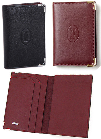 Kaminorth shop rakuten global market cartier cartier cardcase two cartier cartier cardcase two fold business card case holder card case mast cabochon unisex bordered black x bordeaux wine two fold put the card embossed reheart Image collections