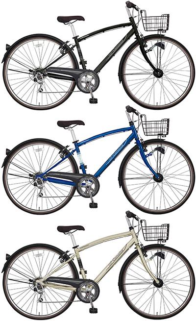 ブリティッシュシティーサイクル 27インチ自転車オシャレなクラシック大きめのタイヤでスピードアップ!マットブラック ブルー マットゴールドシマノ製6段変速ギア&フロントキャリア&泥除け&ライト標準装備
