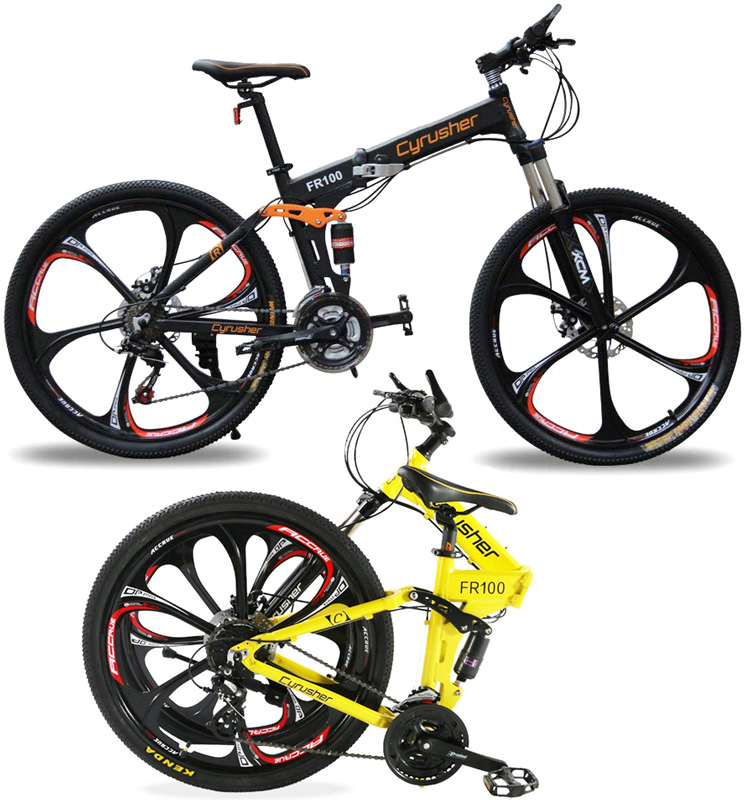 b903a1a81f5 By MTB mountain bike 26 inch folding bicycle Shimano 18-speed gear with  shock absorbing front suspension & light lightweight aluminum frame  &-power ...