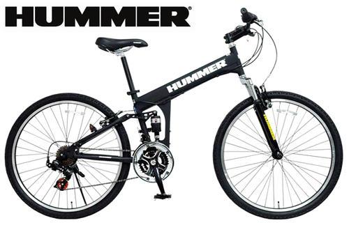 ハマー  26インチ自転車 マウンテンバイク ダブルサスペンション搭載&シマノ製18段変速&フロント&リアサスペンション搭載HUMMER 26inch BIKE