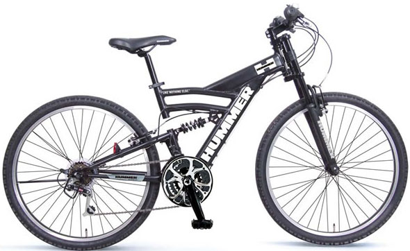 kaminorth shop: HUMMER Hummer mountain bike MTB 26 inch bike twin ...