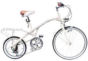 22インチ×16インチクラシック自転車ダイナモライト&リアキャリア搭載グリップシフトシマノ製6段変速Vintage Citybike 22inch×16inch