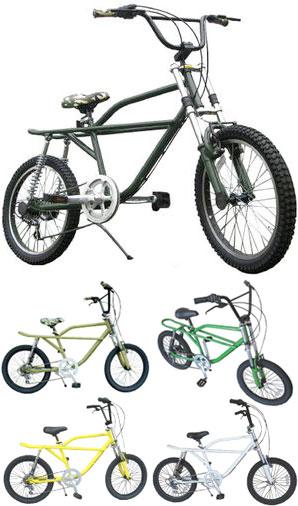 モトクロスバイクBMX 20インチ自転車個性的なデザインと走りを両立ダブルサスペンション搭載モトバイクシマノ製6段変速搭載マットグレー ブラック イエロー グリーン ホワイト オリーブカモフラージュBMX × MOTO BIKE MIX STYLE