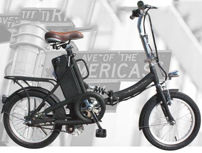 段差の衝撃を吸収 サスペンション搭載リアキャリア付き16インチ折り畳み電動アシスト自転車充電楽々取外可能バッテリー走行(アクセル・ペダル・電動アシスト)トランクや物置に簡単収納ブラック ホワイト 高輝度LEDライトフル電動自転車
