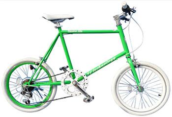 コンパクト 20インチ自転車 ミニベロCTB小型ながらも走りに拘った小径車街乗りに最適な小回りが効く自転車坂道も楽々6段変速ギアシンプル&スリムなコンパクトサイクルスタイルホワイト グリーン レッド カラーリム