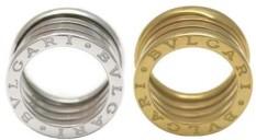 BVLGARI Bzero1 RINGブルガリ ビーゼロワンリングB.zero1 指輪 ゆびわホワイトゴールドイエローゴールド ローズゴールドB-ZERO1 4バンドリング円形競技場コロッセオインスピレーション