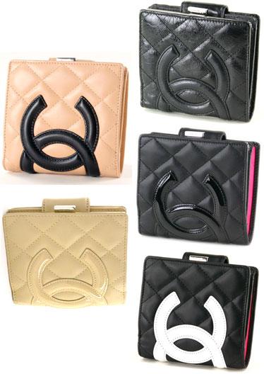 89095ad310d8 Chanel CHANEL A26720 purse folded pouch purse Cambon line 26720 purse money  pouch 2 fold wallet ...