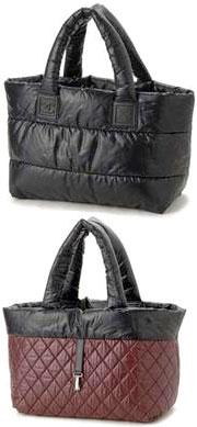 CHANEL COCO COCOONシャネル ココ コクーンキルティング リバーシブル ミディアムショッピングトートバッグ A47107ブラック×ボルドーかばん 鞄 カバン BAGブラック×ボルドーカーキグレー×ボルドーダークブラウン×ベージュ47107