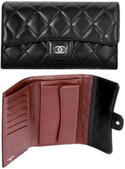 dc6244606b79 Chanel CHANEL rubx long tri-fold wallet matelasse lambskin yellow red light  pink pink bald ...