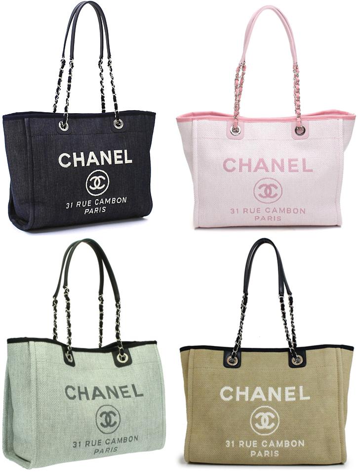 0d71d797d52a CHANEL Chanel shoulder bag denim blue navy gray light pink beige Deauville  line tote bag here mark logo bag bag back DEAUVILLE 31 RUE CAMBON PARIS