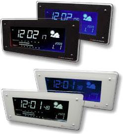 【クーポン対象外】 タッチセンサーでアラームが止まる!天気予報表示付きLCD電波時計温度・湿度表示付き目覚まし時計ブルーorホワイト文字自由に切り替えブラック ホワイト フレーム暗闇ではLCDの光が穏やかに表示掛け置き兼用スヌーズ機能付ラジオ時計き, WAネットショップ:ff87ba7f --- canoncity.azurewebsites.net
