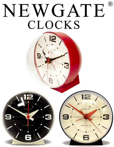 newgate alarm clock bubble alarm clock desk clock new gate bubble alarm clock cream red black