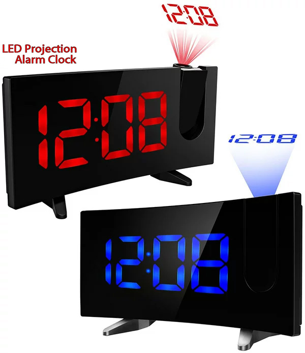 Reflect It On A Projection Alarm Clock