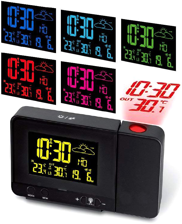 Reflect The Projection Alarm Clock