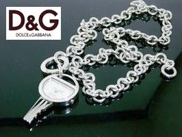ドルチェ&ガッバーナ ウォッチ ミスキーD&G WATCH MISS KEY 3719290056鍵型のウォッチペンダント