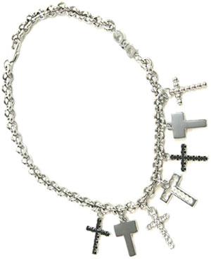 D&G ネックレス ジュエリーチェーンネックレスに十字架がぶら下がるクロスチャーム ペンダントJewelry DJ0048DOLCE&GABBANA Necklaceドルチェ&ガッバーナ ドルガバ メンズ レディース 男女兼用