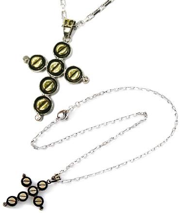D&G DOLCE&GABBANAドルチェ&ガッバーナ シルバー クロストップ 十字架 連球アクセサリー ペンダント ネックレスGN002A GAARO G7503ドルガバ メンズ レディース 男女兼用
