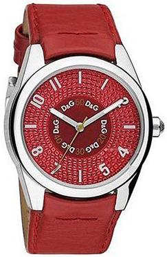 ドルチェ&ガッバーナ 腕時計 サンドパイパーD&G TIME watch SANDPIPER DW0260REアナログ レザーベルト ピンクDOLCE&GABBANA ドルガバ ディー&ジー レディース ラインストーン
