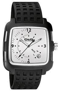 ドルチェ&ガッバーナ 腕時計D&G TIME watch Square DW0361BKWHアナログ スクエアDOLCE&GABBANA ドルガバ ディー&ジー メンズ
