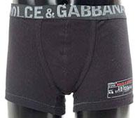 DOLCE&GABBANA  ドルチェ&ガッバーナ ボクサーパンツメンズ ボクサーブリーフパンツブラック ホワイトロゴアンダーウェアドルガバ D&G ディー&ジーUNDER WEARM10355-N0000