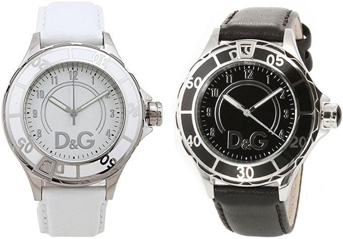 DG 腕時計 アンカードルガバ アナログウォッチ お気にいる ANCHORホワイト 毎日激安特売で 営業中です ブラック DW0510WH DW0509BKDOLCEGABBANA ジー メンズ 男女兼用ドルチェ ディー ブレスレット レディース ガッバーナアクセサリー
