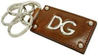 ドルチェ&ガッバーナ キーリングDOLCE&GABBANA ドルガバメンズ ブラック DGロゴKEYHOLDER キーホルダー キーケースブラック ブラウンD&G ディー&ジーBP1377-A35308B936 8S032
