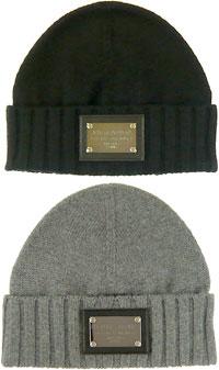 DOLCE  GABBANA-knit Cap stamped slim green black grey Hat knit Cap Dolce    Gabbana D   G mens Womens gender unisex KNIT CAP double up f4093d75470