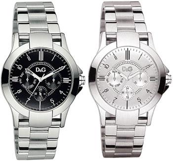 D&G 腕時計 デキサスドルガバ アナログウォッチ日付けカレンダー 曜日 24時間表示ブラック ホワイト シルバーバンドDOLCE&GABBANA TEXAS ディー&ジーメンズドルチェ&ガッバーナDW0537BKDW0538WH アクセサリー ブレスレット