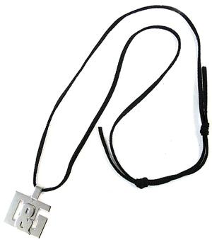 D&G DOLCE&GABBANAドルチェ&ガッバーナネックレス ブラック×シルバー ロゴ アクセサリー プレゼントチョーカー ドルガバ メンズ レディースDJ0530