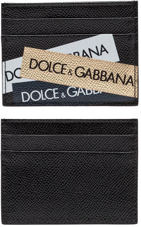 DOLCE&GABBANA D&Gドルチェ&ガッバーナ定期入れ カードケースドルガバ メンズパスケース 名刺入れブラック ホワイト×ゴールド×ブラックCARD PASS CASE定期入れ クレジットカードケースディー&ジー カードホルダー88V038BK-GDWHBK