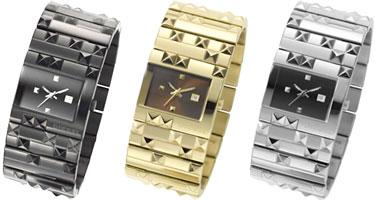 柴油手表DIESEL DZ5141 DZ5143 DZ5144模拟表金属皮带日历日期女士
