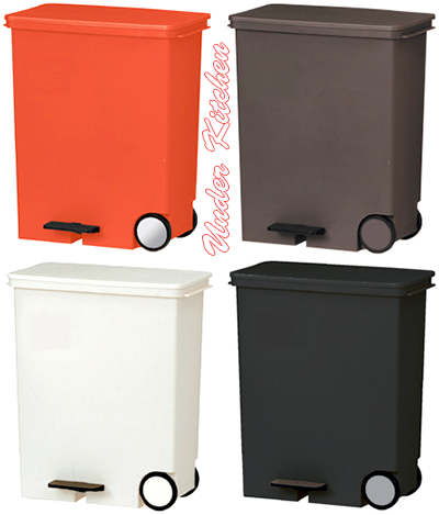 Trash Under The Kitchen Or Kitchen Counter Donu0027t Mind Height With Wheels  Slim Recycling ...