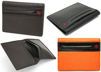 best service f2456 fca07 EMPORIO ARMANI two folding card case Emporio Armani mens black NERO 80001  YEM776 YCD20 Orange BRANDY 80134 Brown AFTER DARK 80190 Red Embroidery two  ...