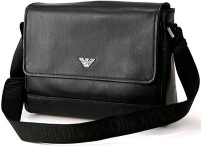 f30a3fdf1bf0 Angled loveseat EMPORIO ARMANI shoulder bag Messenger bag Emporio Armani  men s YEMC39 YH033 black 80001 dark dark brown 80426 80190 Pochette EA    Eagle logo ...
