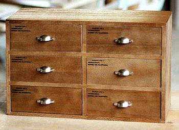 2×3 ウッドマルチボックス小物入れ ウッドミニチェスト 横型木製ケース ウッドブラウン ホワイトデスクラック 収納ボックス引き手 無地&プリント ハーフドームノブトイレや玄関の下駄箱の上に