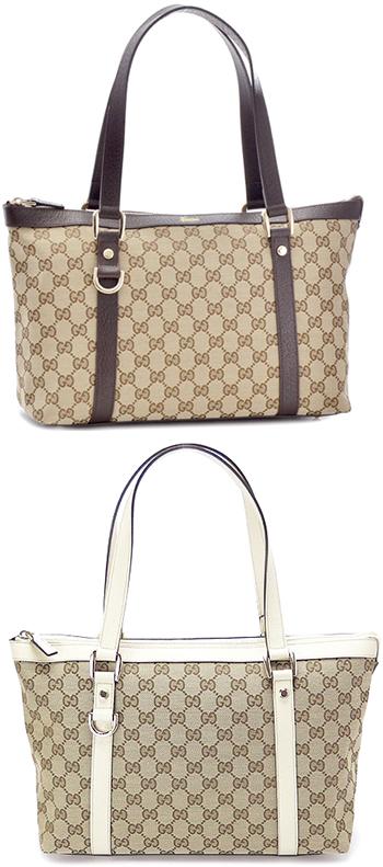 65eb689ff43287 Gucci bags GUCCI shopping tot GG canvas tote bag pig skin handbags pigskin  semishoulder shoulder bag ...