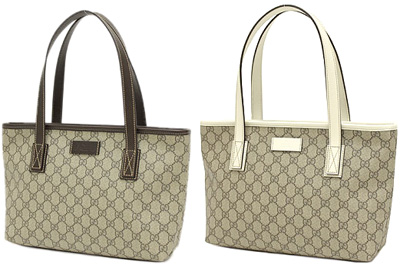 7c217a206ea0 ... GUCCI TOTE Gucci PVC coated canvas tote bag beige x Navy Couture plate handbags  shoulder bag
