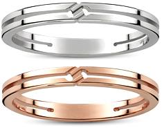 GUCCI RING グッチ ノットリングホワイトゴールド ピンクゴールドインフィニティ ロゴ刻印 控えめデザイン結び目 ティンメンズ レディース 男女兼用指輪 ペアリングとしてもOK18Kホワイトゴールド 900018Kピンクゴールド 5702 PG
