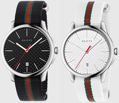 d5ea4608abc GUCCI Gucci watch date with mens analog watch G timeless black nylon Web  belt diamond pattern dial G timeless rajslimwatch stainless steel   Web