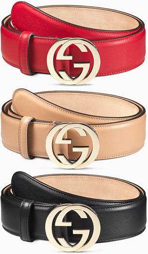 f9225598d12 GUCCI Gucci leather belt double G buckle red black rose beige Brown 6433  1000 5812 2754 2548 signature leather GG buckle icon interlocking G buckle  hand ...