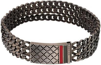 105ec4c36 ... Gucci GUCCI BRACELET diamantissima bracelet Palladium coating sterling  silver bracelet 8518 WEB Kihei chain mens Womens ...