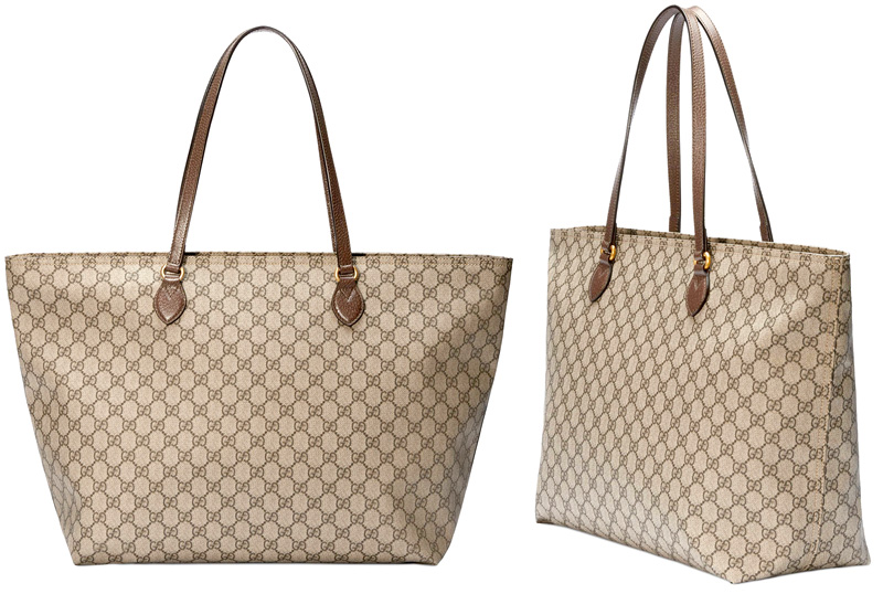 772f0d52c15 GUCCI Gucci wide tote bag antique gold double G logo coating GG canvas  shoulder bag software GG スプリームキャンバスベージュ X brown bag bag coating micro ...
