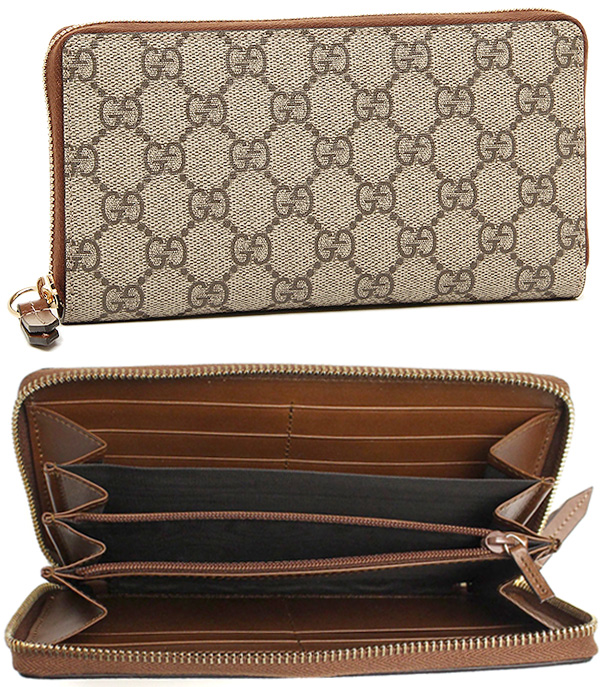 08dc397a45fc GUCCI Gucci rubx zip around wallet MISTRAL micro guccissima leather Mistral  soft calf x GG embossed dark brown black gray emerald green 256439  A8WQN2019 ...