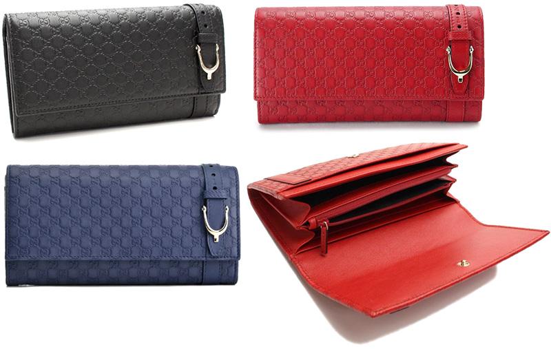 Gucci ふた つ折り 財布