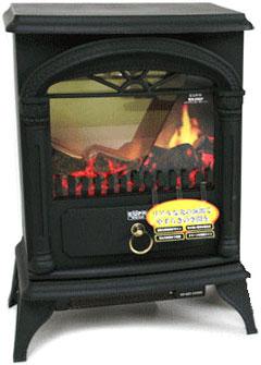 取扱い簡単な電気式温風ファンヒーター英国スタイルの暖炉をモチーフにデザインしたレトロアンティーク電気温風暖炉ヒーター薪が燃えているような臨場感お部屋のデザインに拘らず安全にお部屋を暖かく電気ファンヒーター 暖房器具